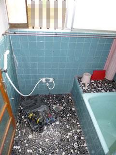 我孫子市水まわり在来浴室リフォーム前