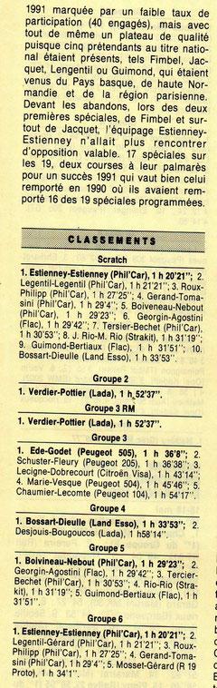 mai 1991 - Course Auto Magazine