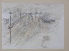 Stadt Berlin, 50 x 70 cm 1989