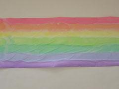 Regenbogen, ca 28 x 5 m