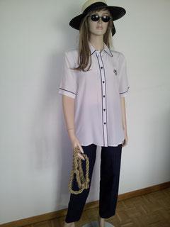 Bootsfrau/ Matrosin, Gr.40/42, Bluse+ Hose Fr.21.-