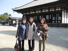 興福寺にて