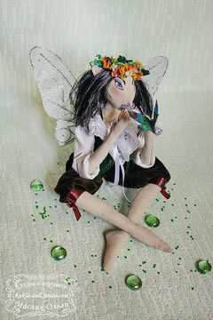 Текстильная кукла Эльф