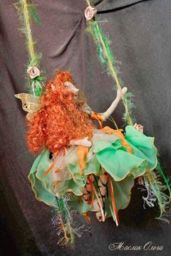 Текстильная кукла Эльфочка