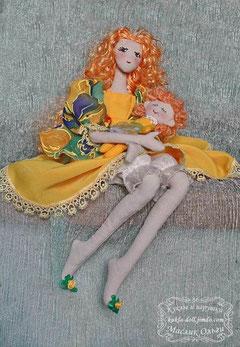 Тряпиенсы. Корейская текстильная кукла