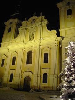 Pfarrkirche im Winter