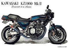 カワサキKZ1000MkⅡ
