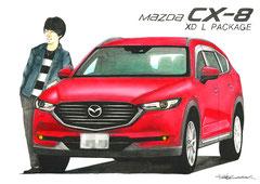 マツダCX-8