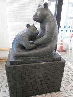上野のパンダ像