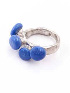 Ring von Dora Des - Candies Serie, Silber, Modelliermasse, Kunstharz