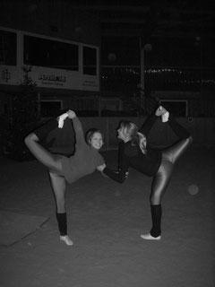 Nadja und Lara