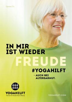 OMY! Yoga für Menschen 60plus, Altersarmut