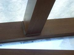 Estructura de hierro forrada de aluminio