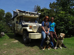 Ursi & Michelle mit Miro & Sheela