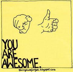 貴方は、凄いんだよ!
