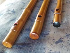 真竹笛頭装飾