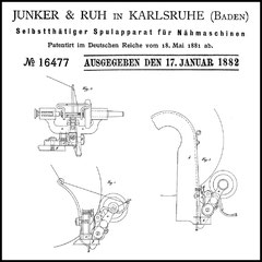 DE 16.477 patent issued in 1882