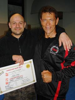 Moni Aizik und Klaus Kirsch