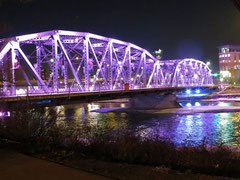 Langevin Bridge in Calgary Alberta Canada will light up on May 12th.