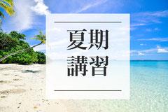 総合型選抜小論文夏期講習塾
