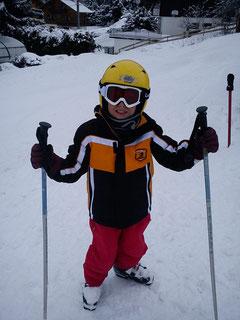 Le plus jeune skieur et ......