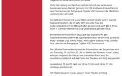 Bitte oben den Text anklicken, um auf die Homepage von Saaarlouis zu gelangen