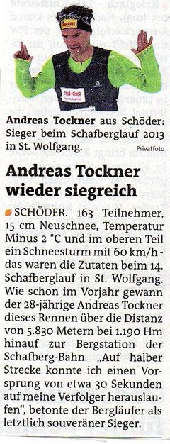 """Murtaler Zeitung """"Schafberg"""""""