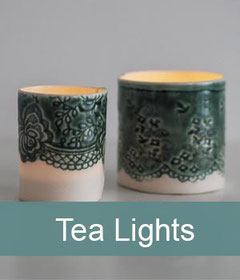 porcelain ceramic tea lights homeware