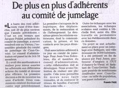 Le Dauphiné Libéré - 10 février 2009