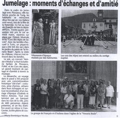 L'Essor Savoyard - 3 juillet 2008