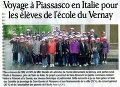 Le Dauphiné Libéré - 23 mai 2012