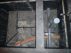 無垢の木でつくる 台東区 木造3階建て耐火建築物 給排水工事2