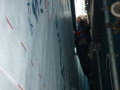透湿防水シート施工2