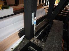 台東区 木造耐火3階建て住宅 構造金物画像2