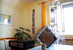 Petras DryCell im Wohnzimmer
