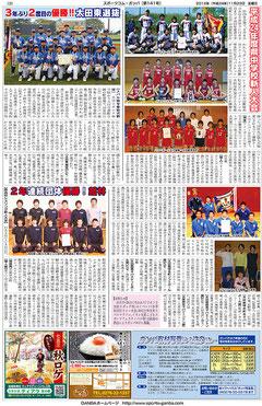 スポーツコム・ガンバ141号3面