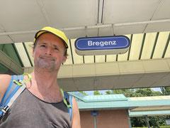 18.06.2021: In Bregenz angekommen.