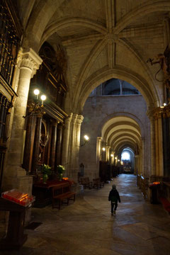 In der Kathedrale Santa Maria.