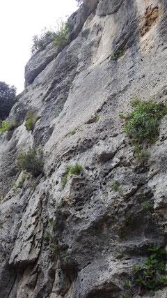 Die Felsen des Mondes...