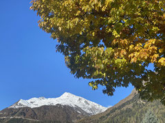 Wunderbares Herbstwetter empfing uns!