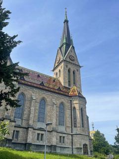 In St. Gallen wimmelt es von Kirchen.