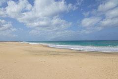 Der Strand bei Moro.