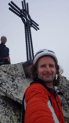 Beim Gipfelkreuz