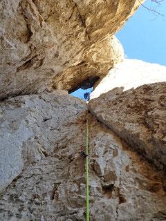 Ganz schön steil für eine 4er Route ;-)