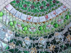 grüne Weihnachtskugel 2013