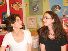 Cécile et moi, à Montreuil.
