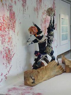 「護符の舞」山脇ギャラリー:コラボレーション