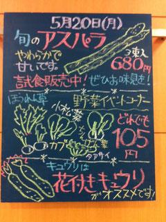船橋 東武 野菜 青果 今日のおすすめ