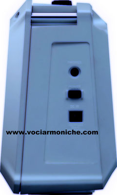 Roland Mobile BA:Line - OUT, alimentatore e interruttore on/off
