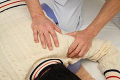 首こり、肩こりの施術写真2